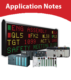 EZAutomation Product Application Notes
