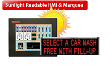 Sunlight Readable HMI/Marquee