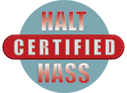 Halt-Hass Certified