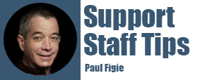 Support Staff Tips